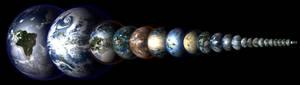 Solar System Terraformed