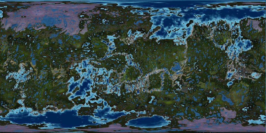 Quaoar Terraformed by 1Wyrmshadow1 on DeviantArt on map of mars, terraforming mercury, see mercury, map of planet venus, us map of the mercury, surface of mercury,
