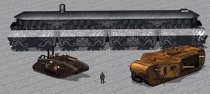 Steampunk Tanks