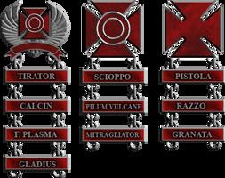 Roman Marksmanship Badges
