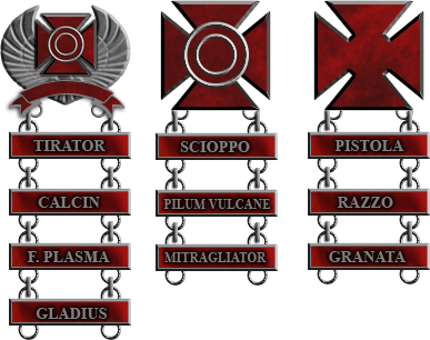 Roman Marksmanship Badges by 1Wyrmshadow1
