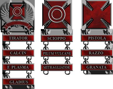 Roman Marksmanship Badges by 1Wyrmshadow1