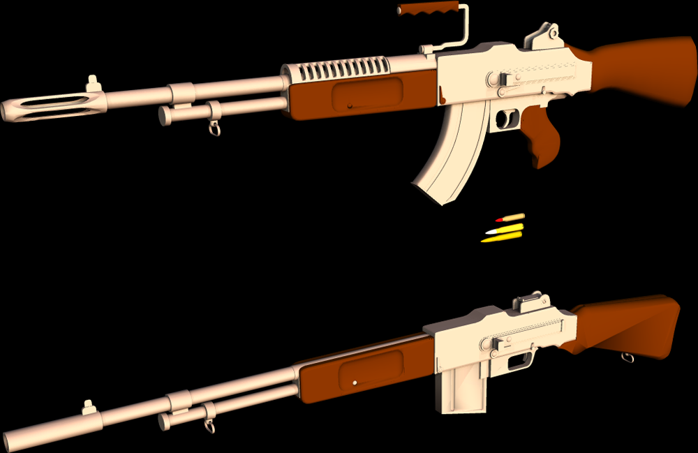 Browning Assault Rifle By 1Wyrmshadow1