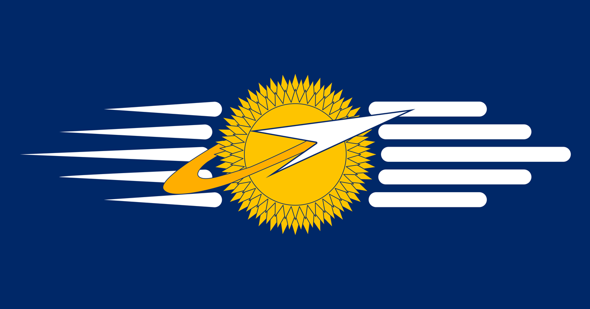 Solar Union Flag by 1Wyrmshadow1