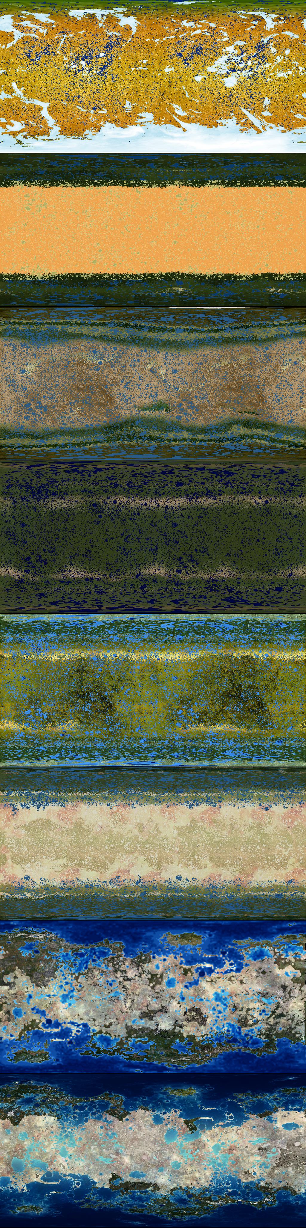 Terraformed Mercury Map Progression by 1Wyrmshadow1