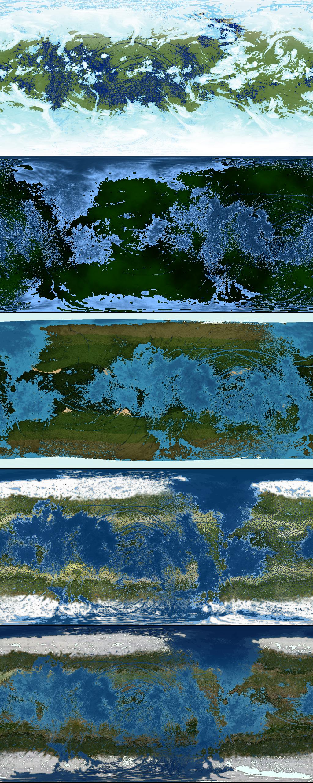 Terraformed Europa Map Progression by 1Wyrmshadow1