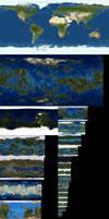 Earth vs. Terraformed Worlds Comparison