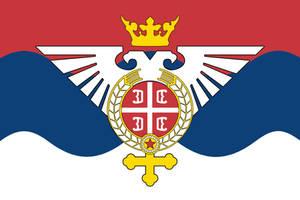 Venusian Serbia Flag by 1Wyrmshadow1