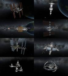 Space Stations in KSP by 1Wyrmshadow1
