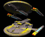 Terran Empire Abber class Monitor