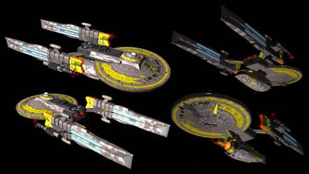 Terran Empire Atlas class Dreadnought