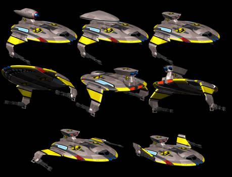 Terran Empire Fighter, Discus multi-role