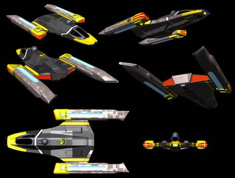Terran Empire: Yoyodyne Starwing Strike Fighter