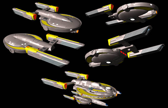 Terran Empire Archer class scout