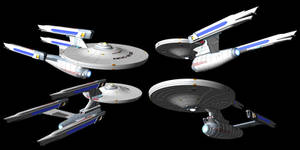 Federation class Dreadnought TMP era refit