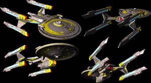 Terran Empire Zephyr class light cruiser