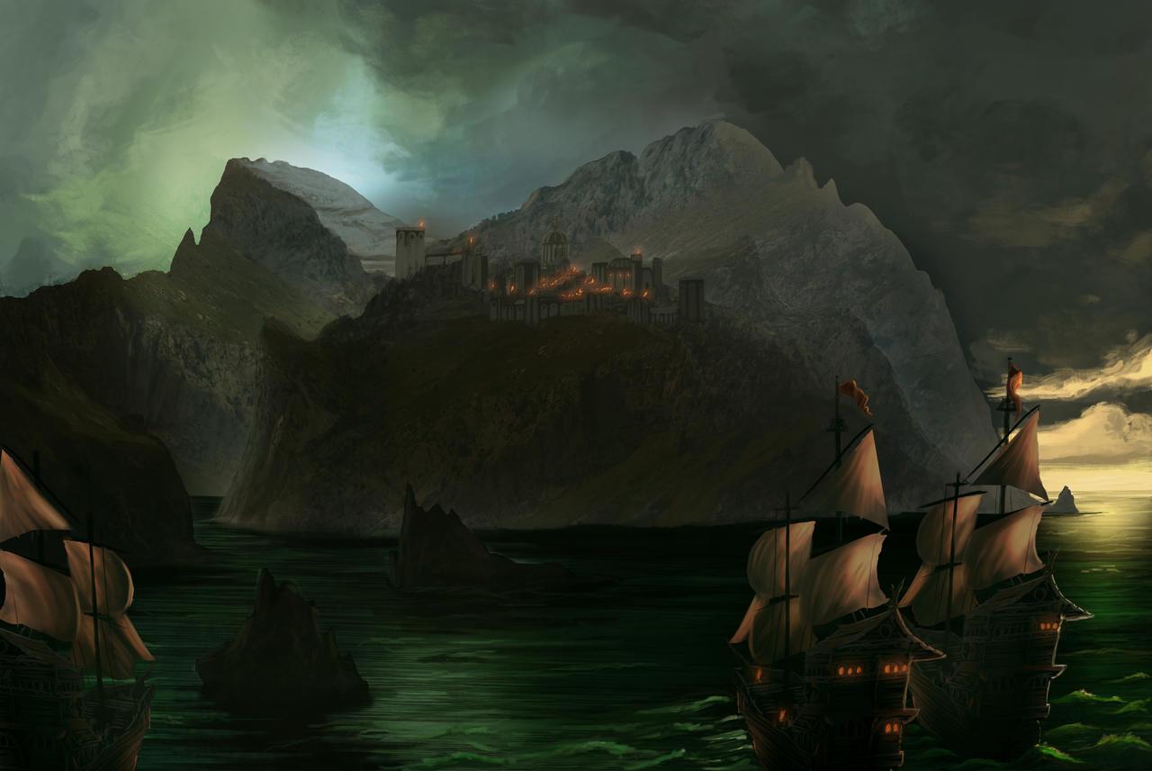 Castle by HetNoodlot