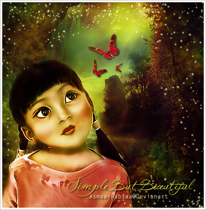 Simple but beautiful by asmaa-rabiaa