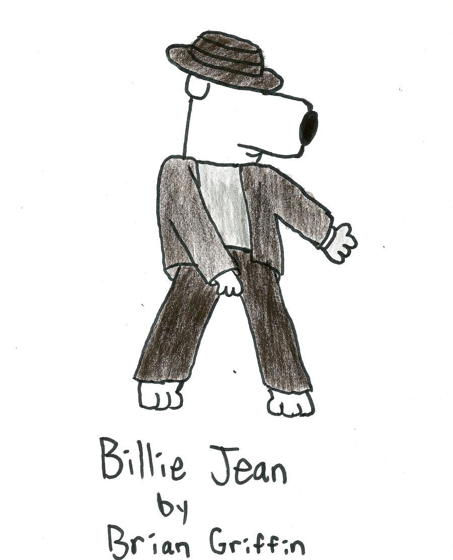 Brian as Michael Jackson by BenJJedi