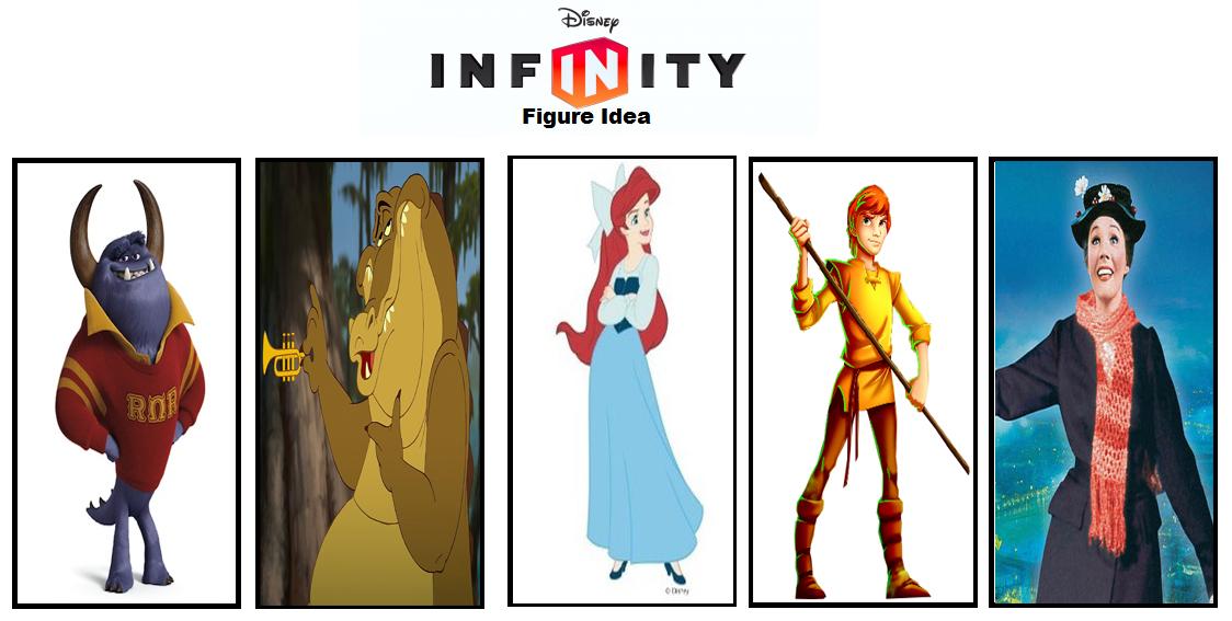 Disney Infinity Figure Wishlist by BenJJedi