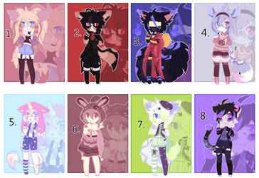 Collab Anthro Adopts (2/8 OPEN)