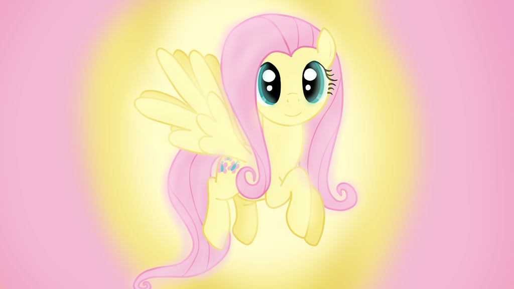 fluttershy wallpaper by sutekh94 on deviantart
