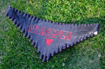 Back of the bird panflute