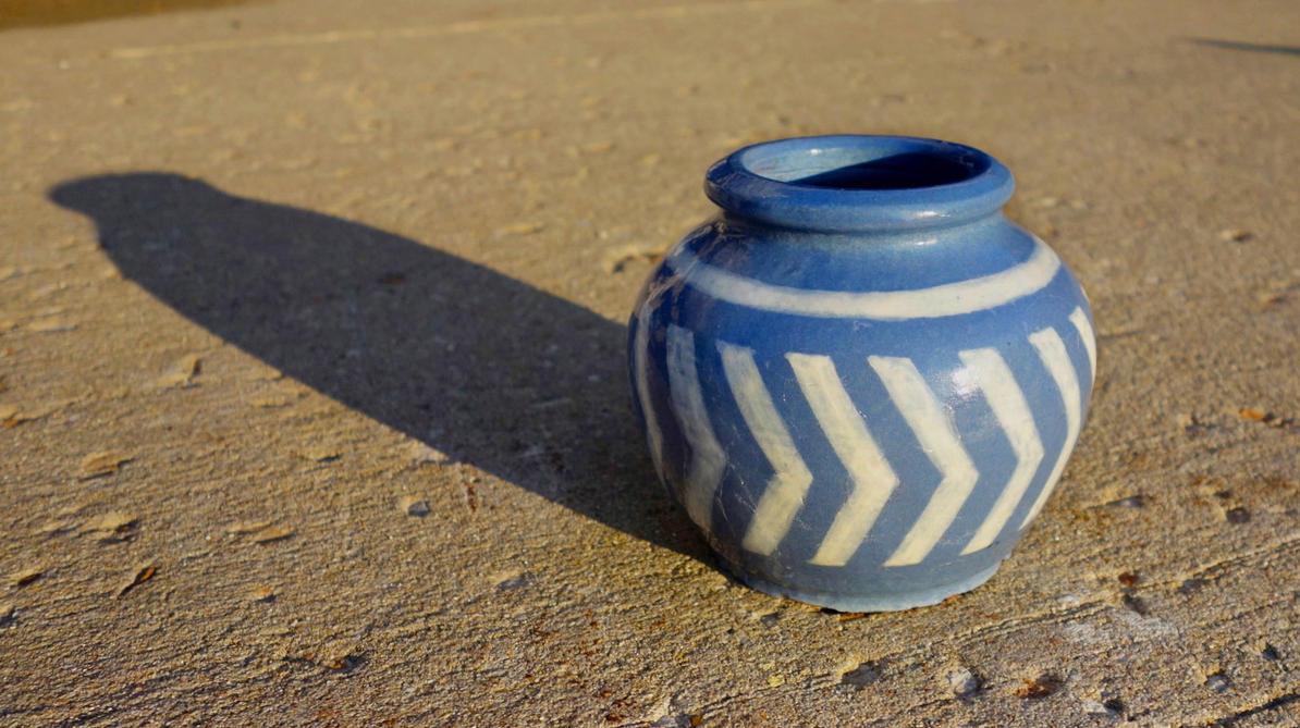 Twilight Princess Ceramic Pot by dekuNukem