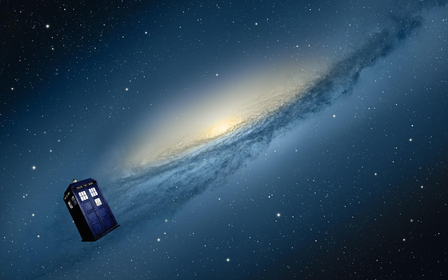 Mac OSX Mountain Lion Doctor Who Galaxy by Mazetron