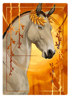 Four of Wands by Memuii