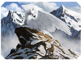 [AC] Goose and Courageous Ibex by Memuii