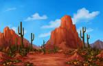 [com.] Desert Landscape