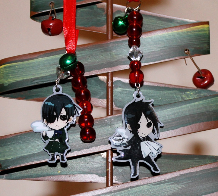 black butler christmas ornament by shishodesigns - Black Butler Christmas