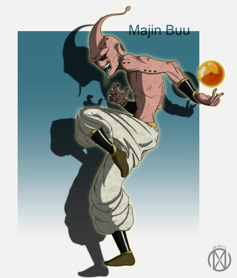 Majin Buu by Illustriation