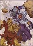 Street Fighter - Oro and Necro