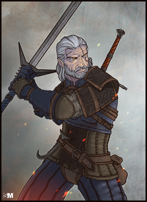 The Witcher 3 Wild Hunt Geralt Of Rivia By Brokennoah On