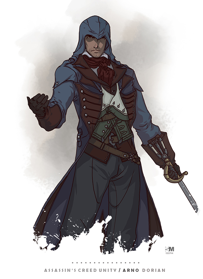 Assassin S Creed Unity Arno Dorian By Brokennoah On Deviantart