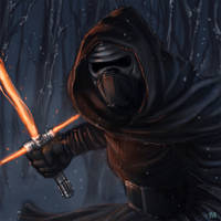 Star Wars The Force Awakens - Kylo Ren by BrokenNoah