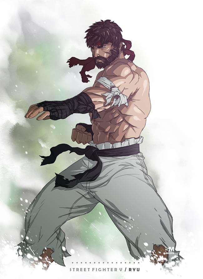 Street Fighter V Ryu By Brokennoah On Deviantart
