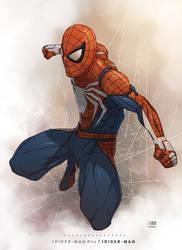 Spider-Man PS4 - Spider-Man by BrokenNoah