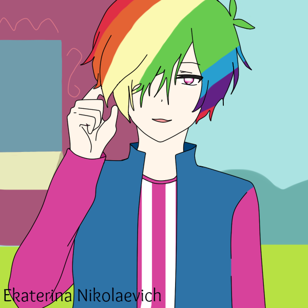 Rainbow Dash MALE VERSION by EkaterinaNikolaevich