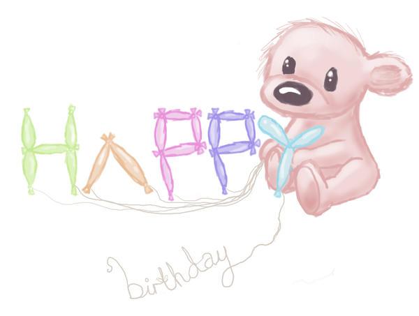Happy Birthday Mum By Teddybear Lover