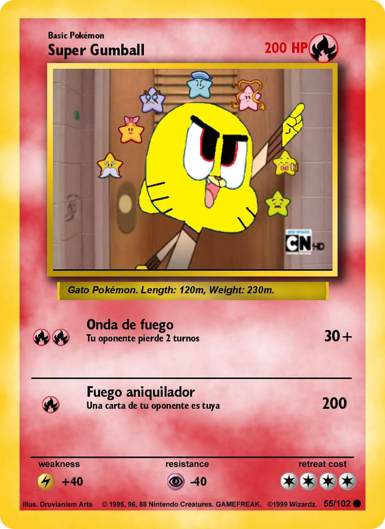 Gumball Pokemon Cards Images
