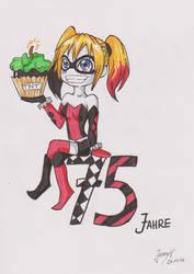 75 years Batman - Harley Quinn