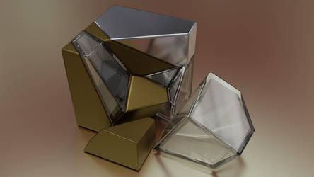 Voronoi-Ice by FracTaculous3D