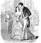 1847 ball dress and redingote