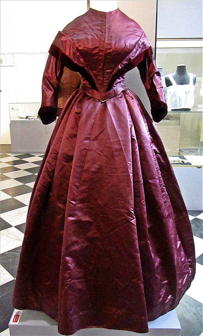 19th century dress by April-Mo