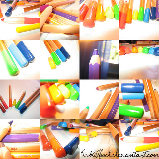 my coloured pencils by KikiHood
