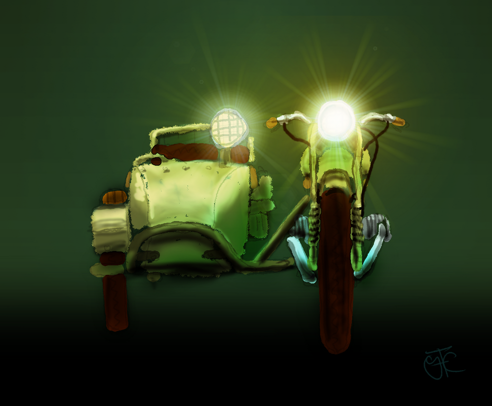 Ural Sidecar by sprocket2cog