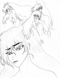 Kagome - I Should Have Cheated by Rachirure